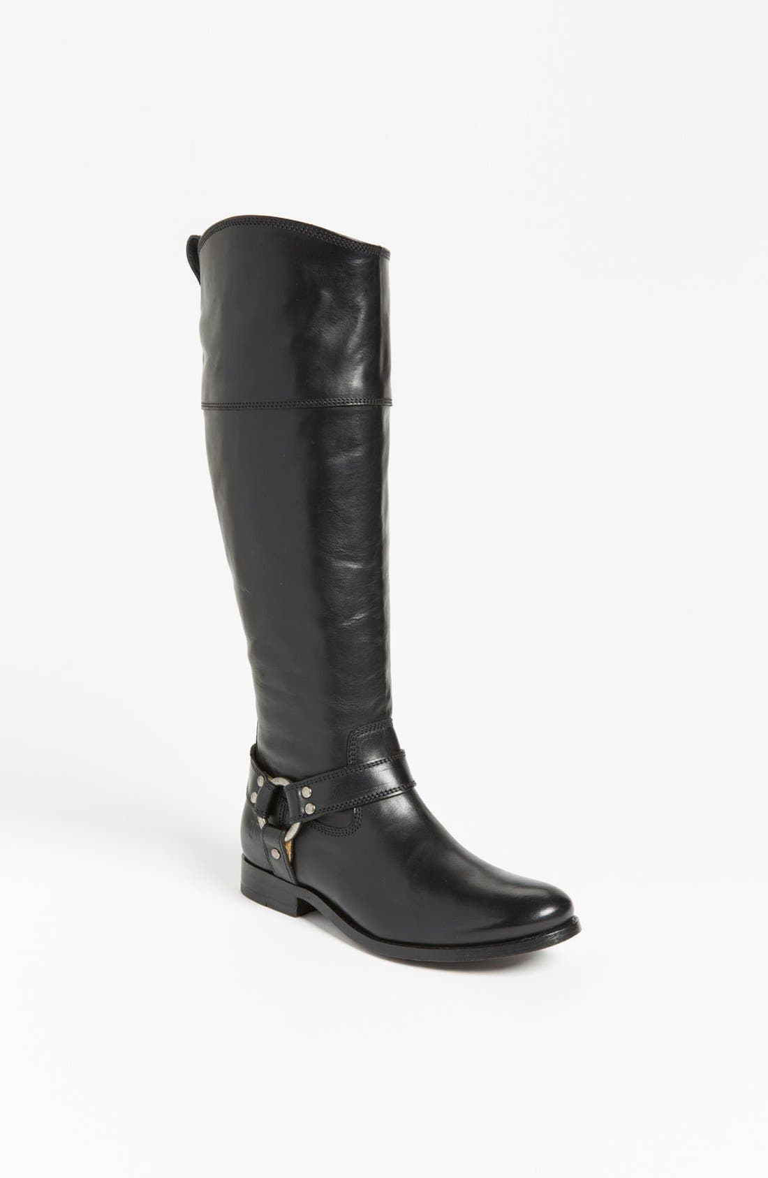 Alternate Image 1 Selected - Frye 'Melissa Harness' Boot (Extended Calf)