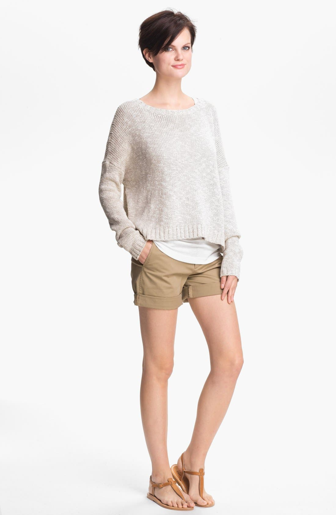 Alternate Image 1 Selected - Vince Square Neck Sweater