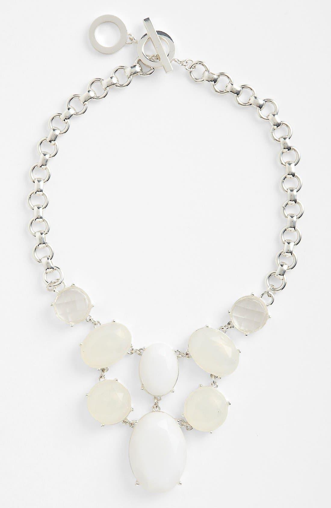 Main Image - Anne Klein Stone Bib Necklace