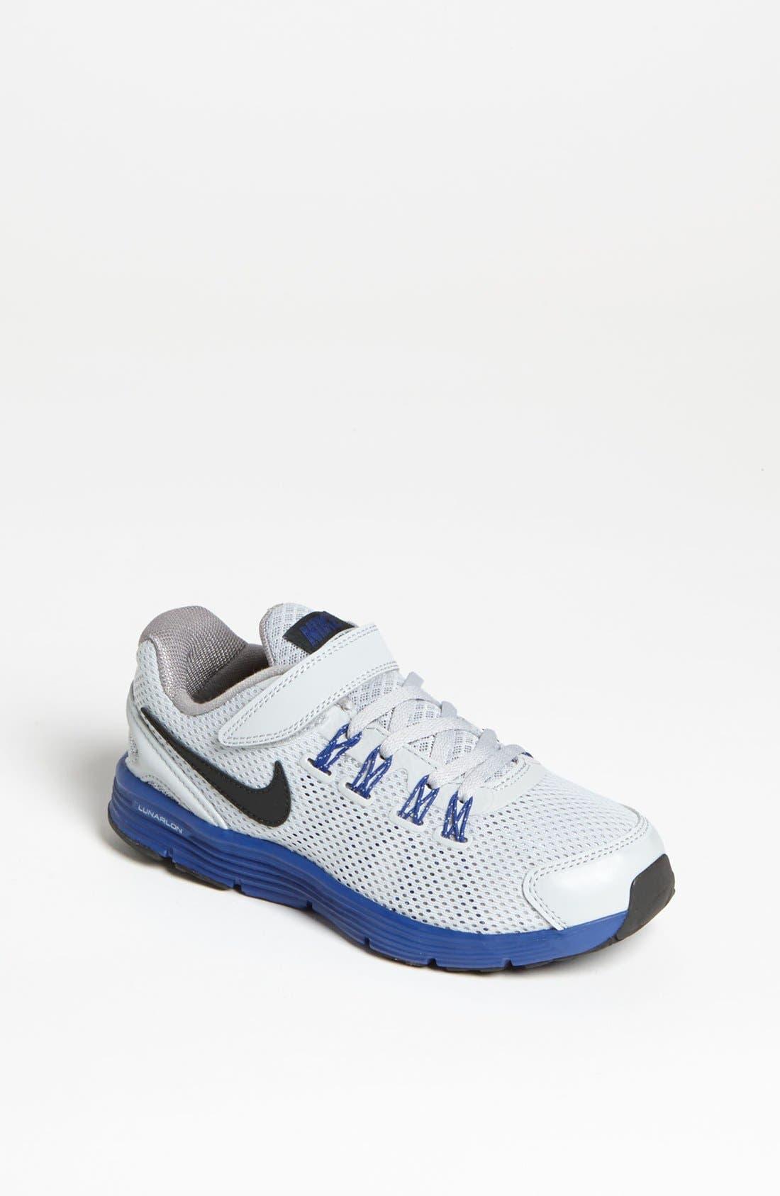 Alternate Image 1 Selected - Nike 'LunarGlide 4' Running Shoe (Baby, Walker, Toddler & Little Kid)