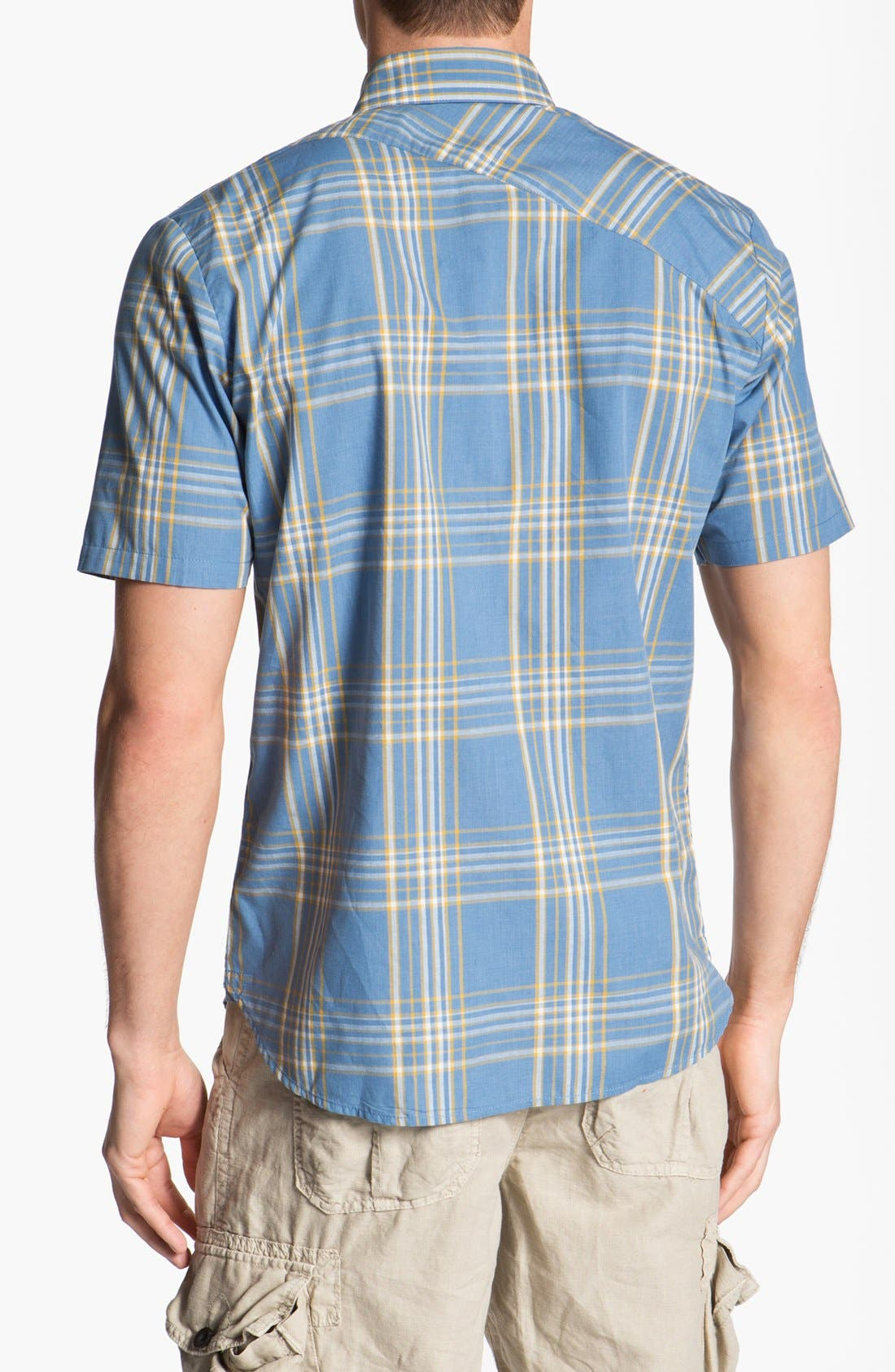 Alternate Image 2  - Volcom 'Why Factor' Plaid Woven Shirt