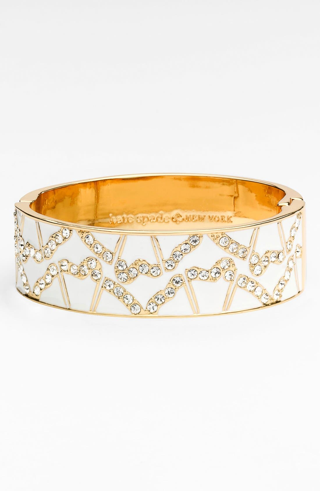 Alternate Image 1 Selected - kate spade new york 'garden grove' hinged bangle