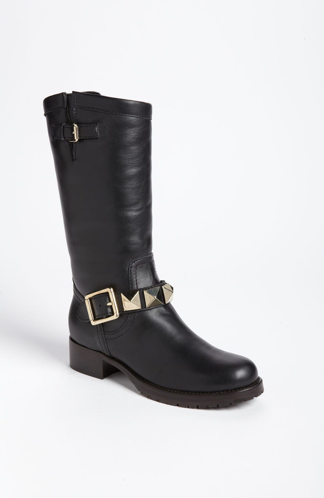 Alternate Image 1 Selected - VALENTINO GARAVANI 'Lock Stud' Biker Boot