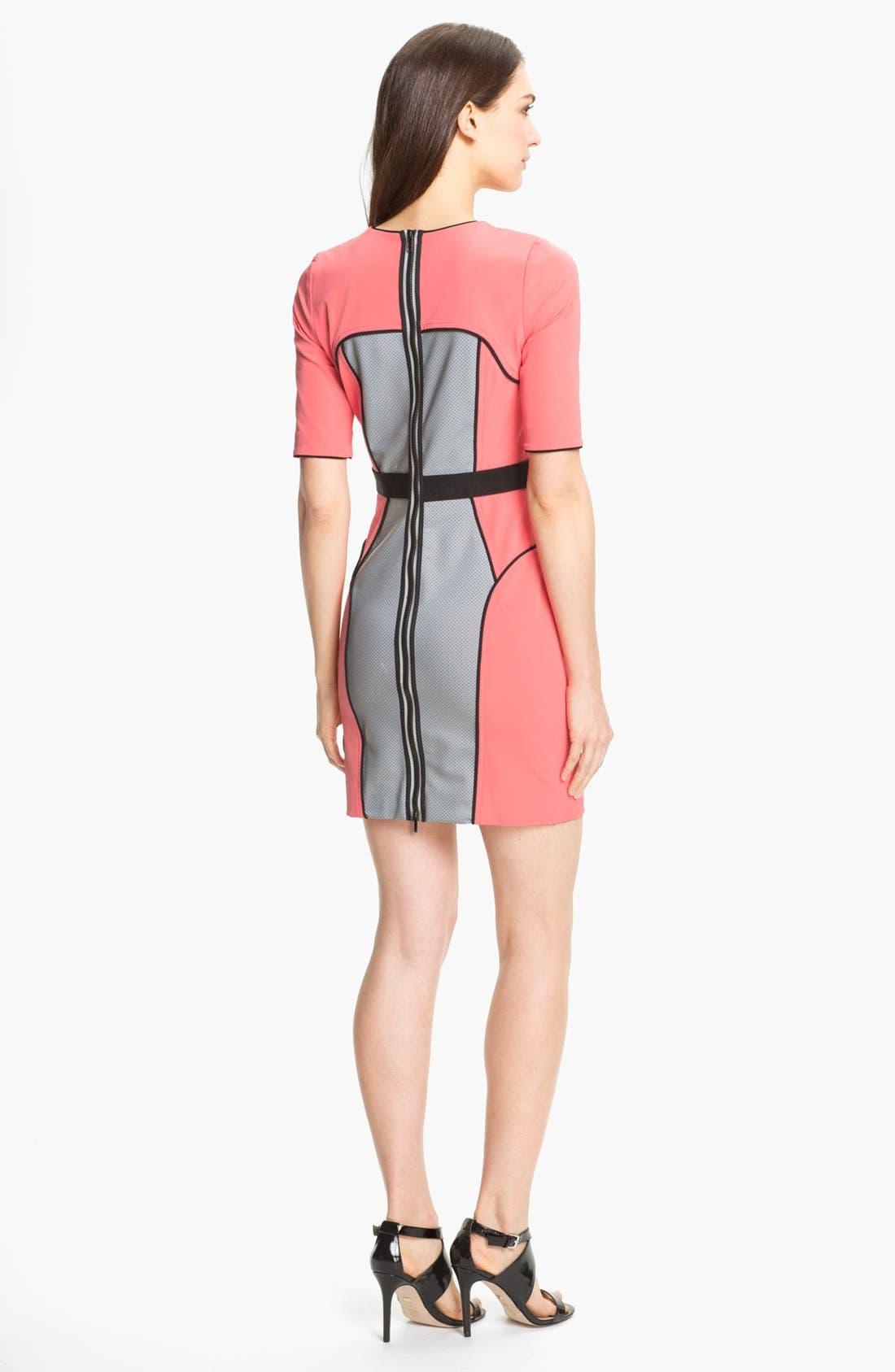 Alternate Image 2  - Milly Techno Sheath Dress