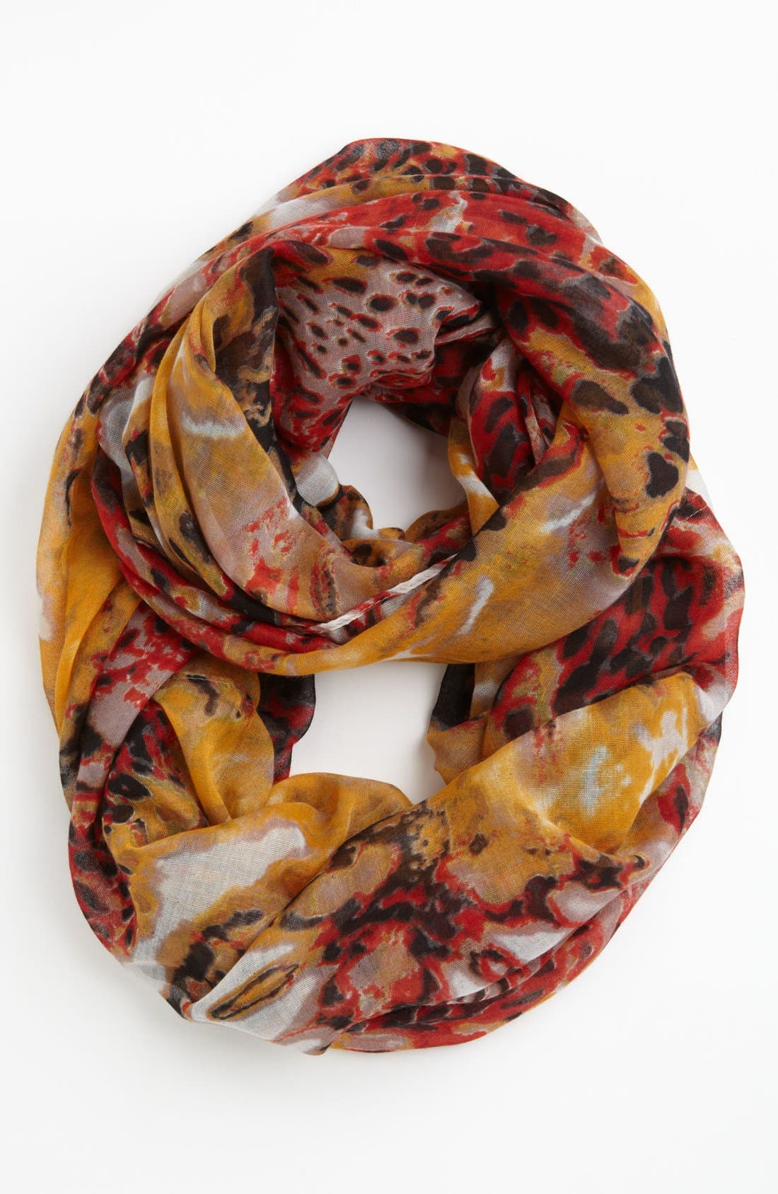 Alternate Image 1 Selected - Hinge® 'Abstract Animal' Infinity Scarf