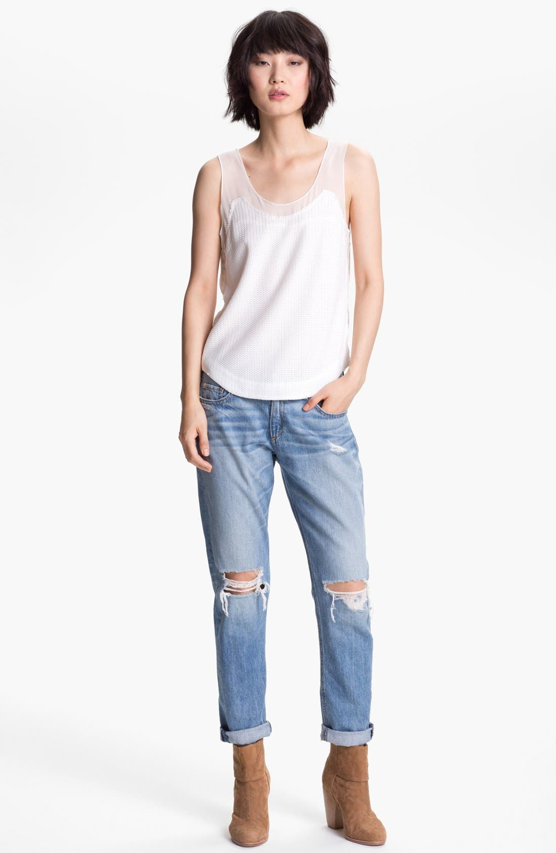 Alternate Image 1 Selected - rag & bone 'Dana' Tank