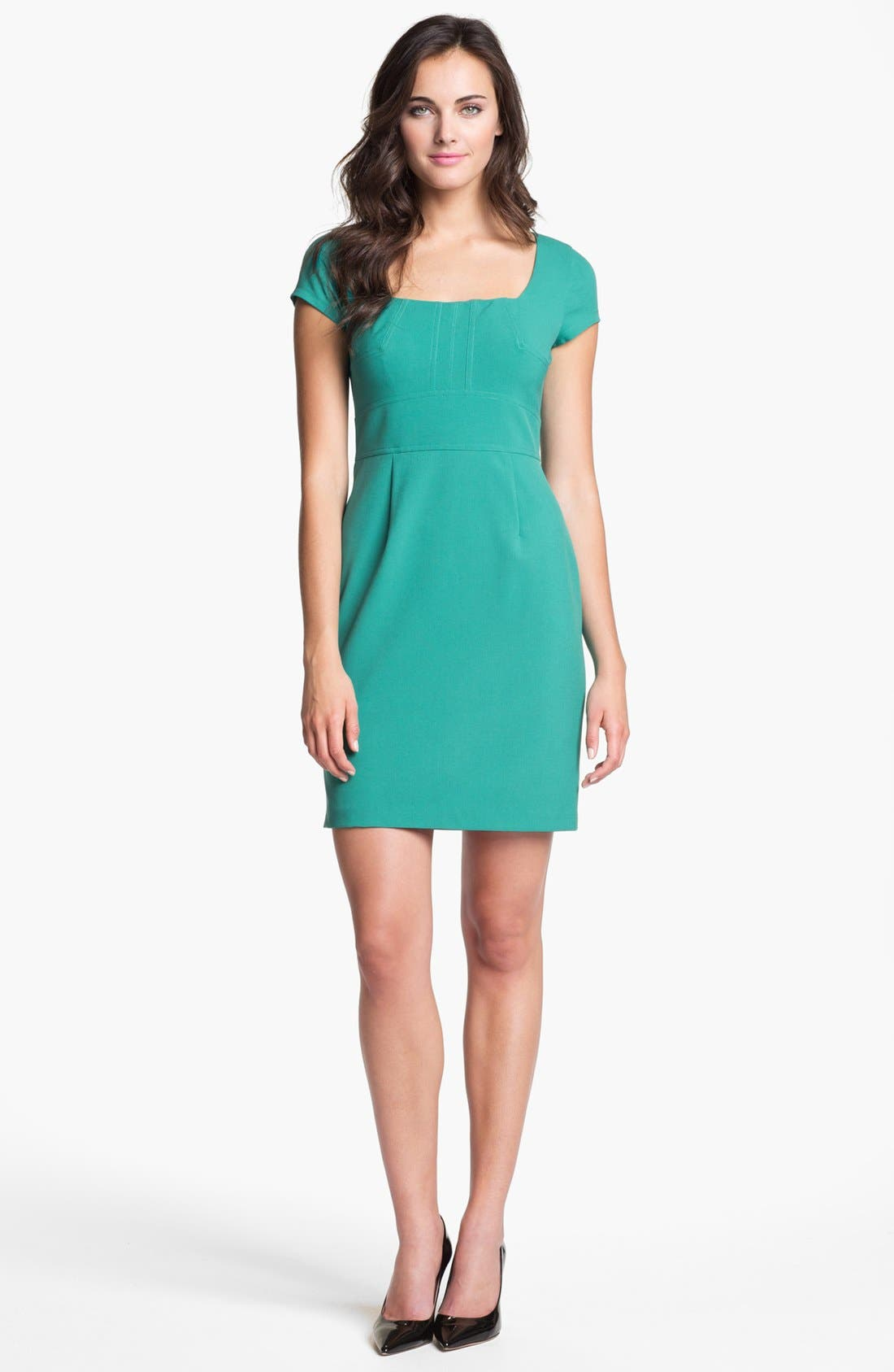 Alternate Image 1 Selected - Marc New York by Andrew Marc Cap Sleeve Sheath Dress