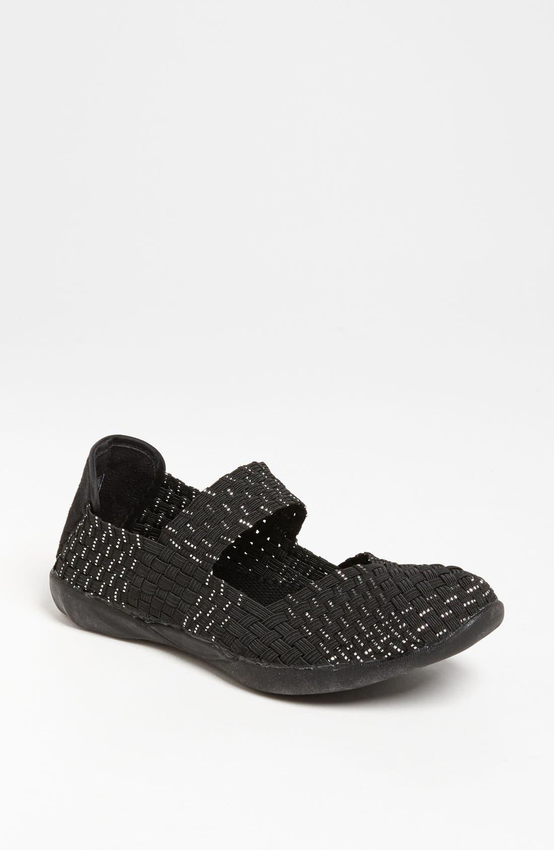 'Cuddly' Sneaker,                             Main thumbnail 1, color,                             Black Silver