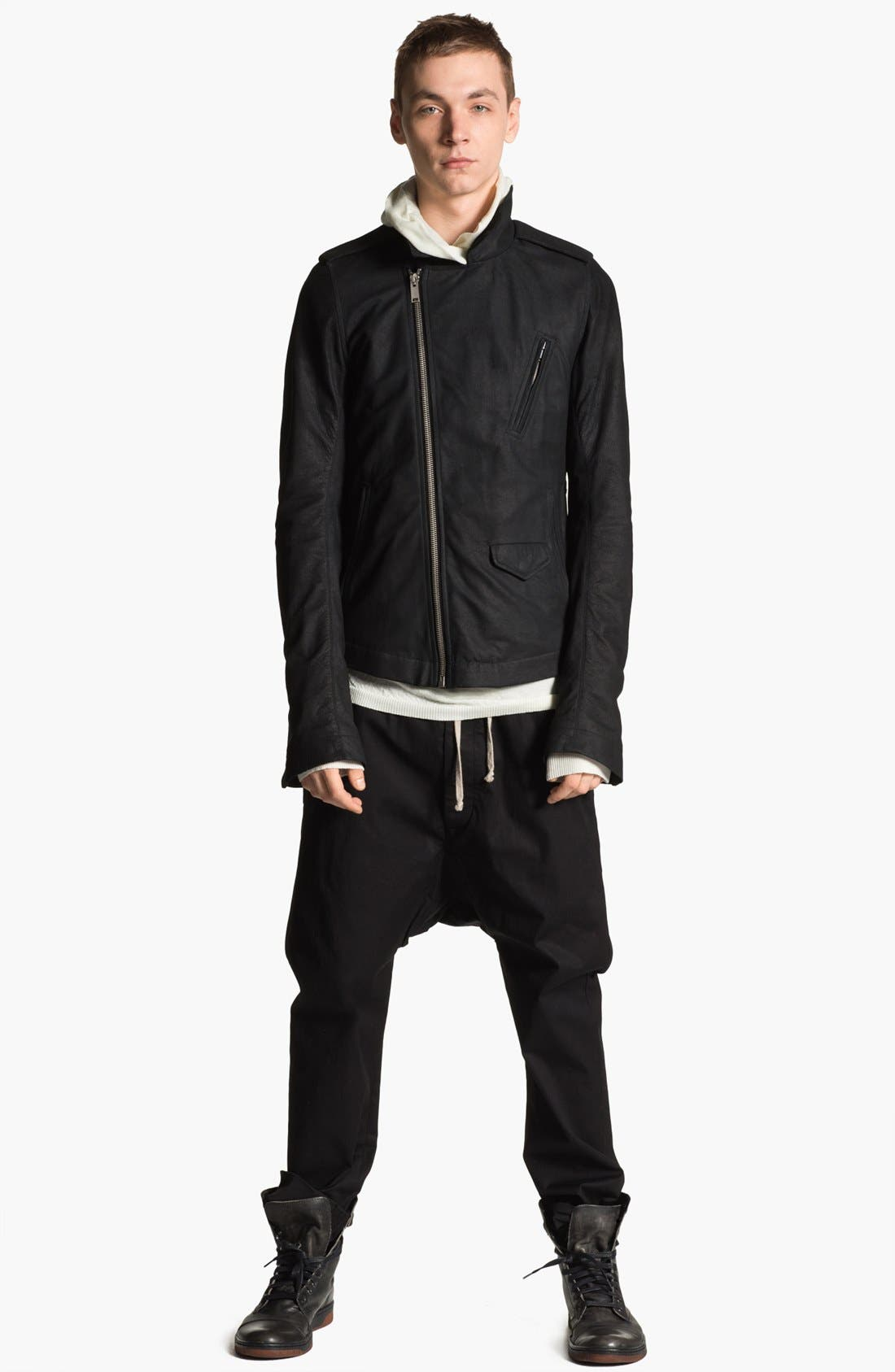 Alternate Image 4  - Rick Owens 'Island' Hooded Merino Wool Sweater