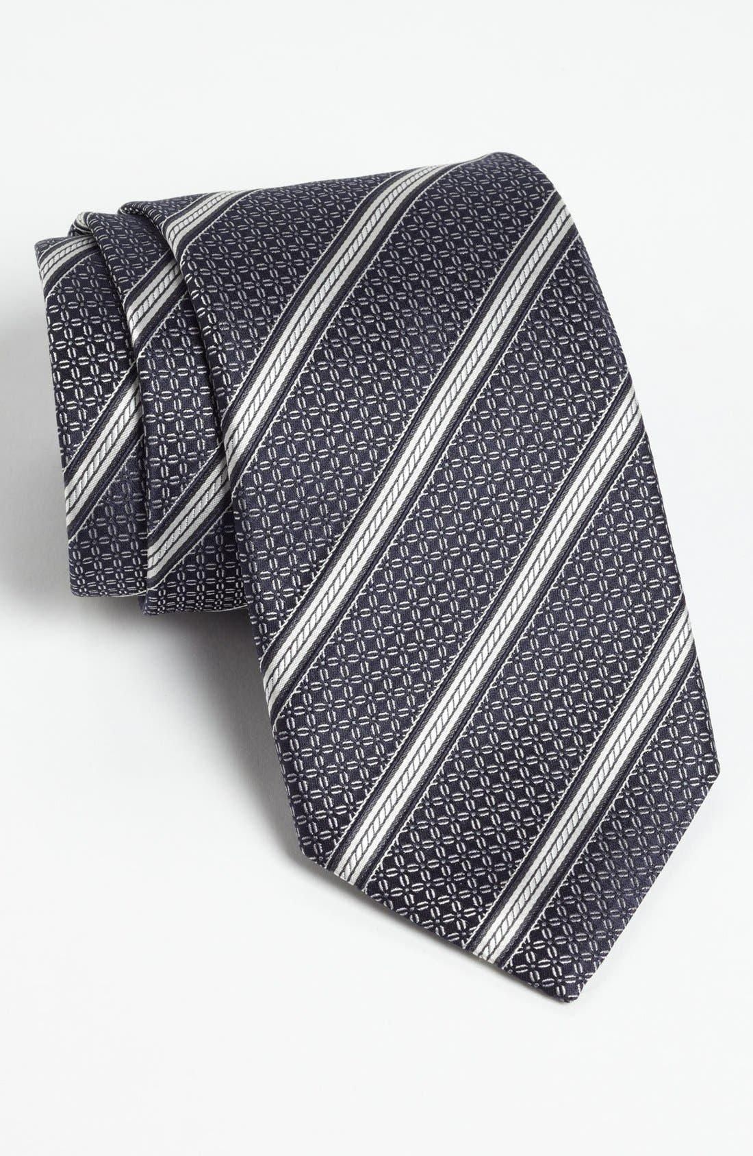 Alternate Image 1 Selected - Canali Woven Silk Tie