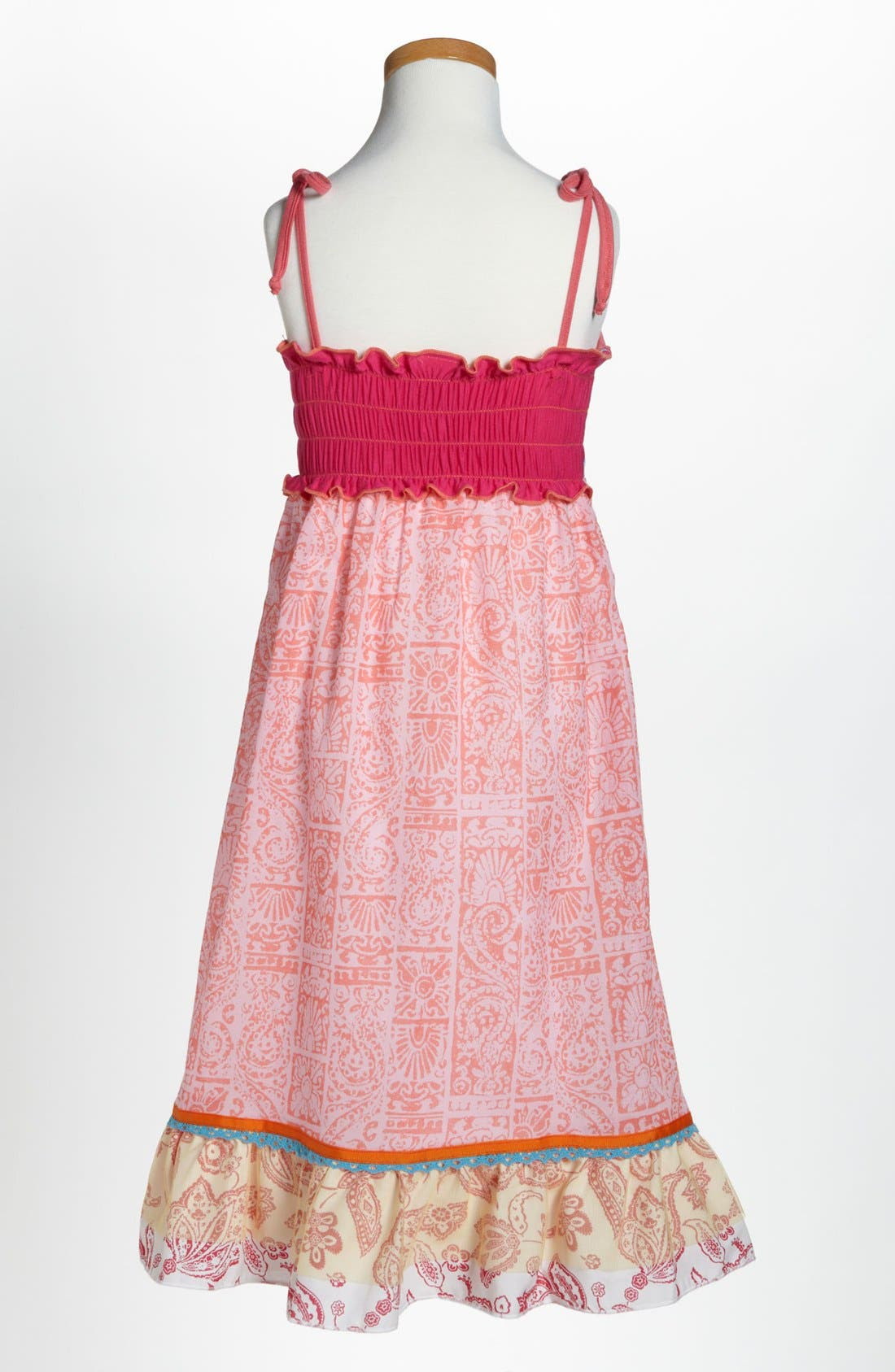 Alternate Image 2  - Twirls & Twigs Maxi Dress (Little Girls)