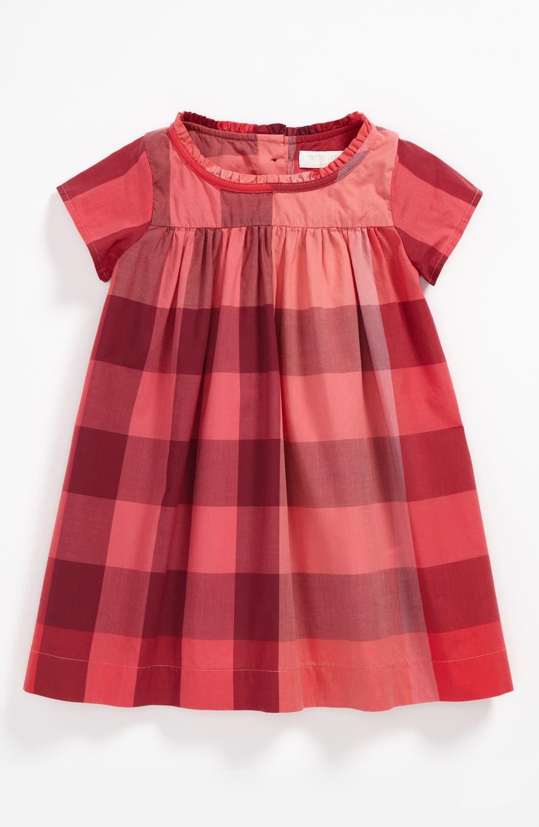 Main Image - Burberry 'Delia' Dress (Baby)
