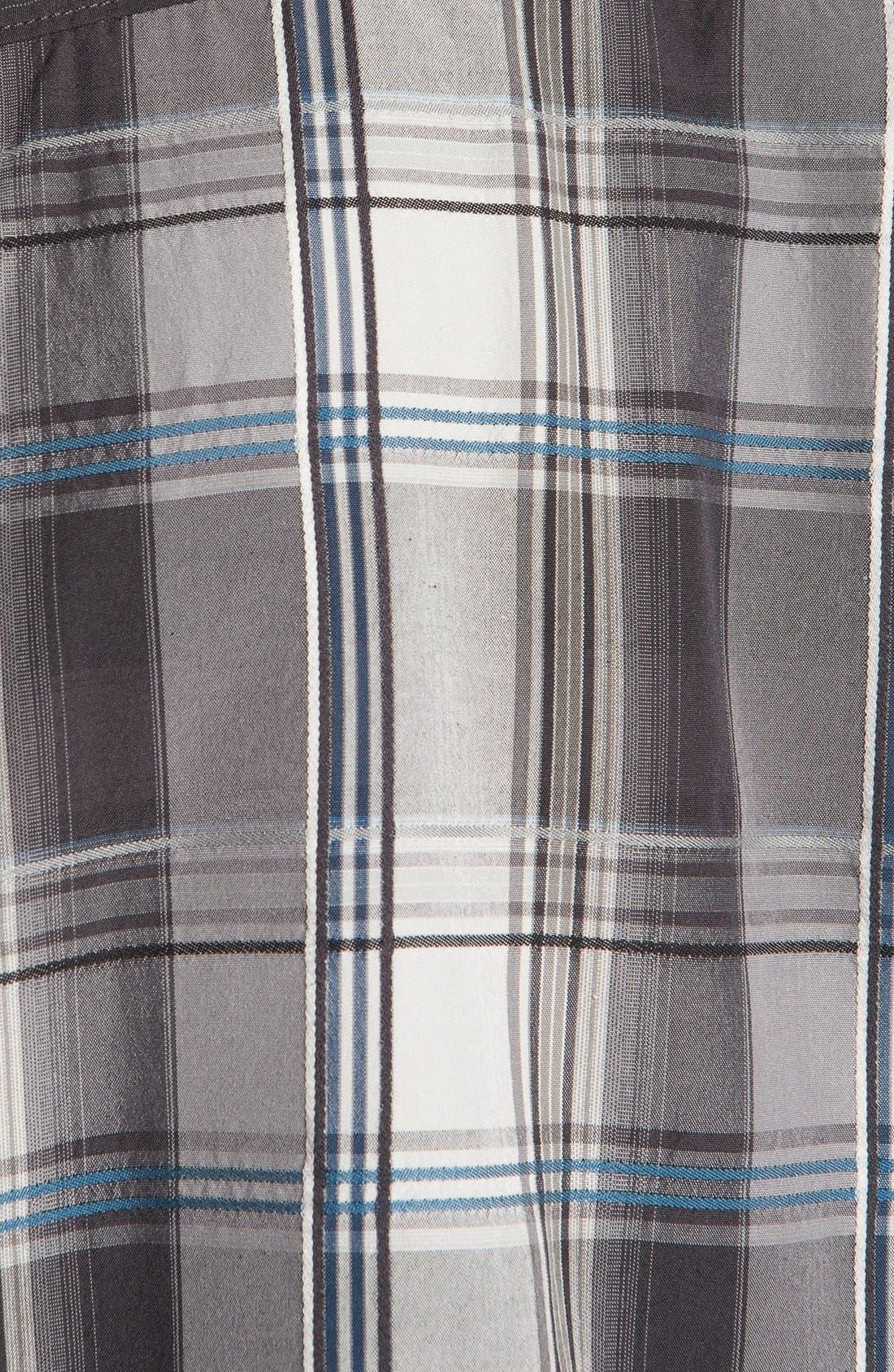 Alternate Image 3  - Tommy Bahama 'Palace Plaid' Silk Campshirt