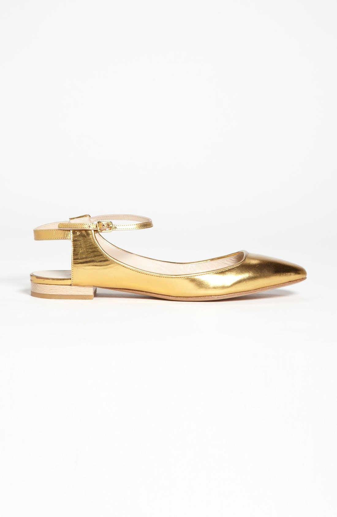 Alternate Image 4  - Chloé Ankle Strap Flat
