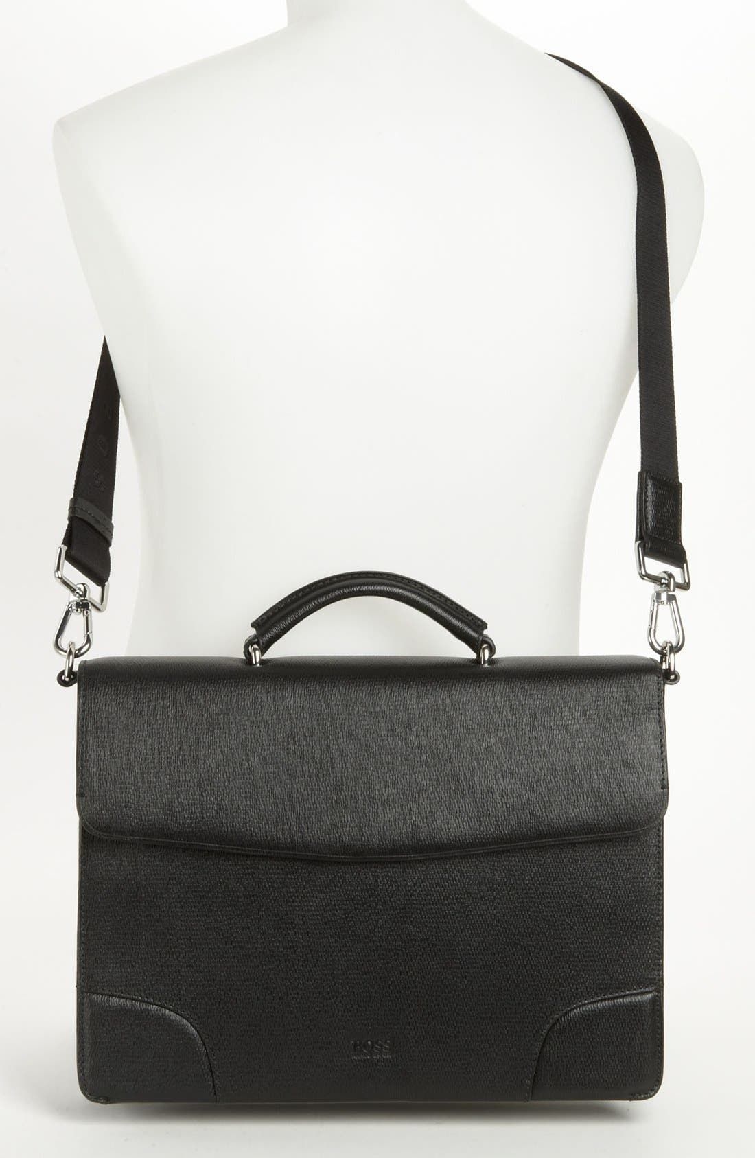 Alternate Image 4  - BOSS Black 'Lamin' Briefcase