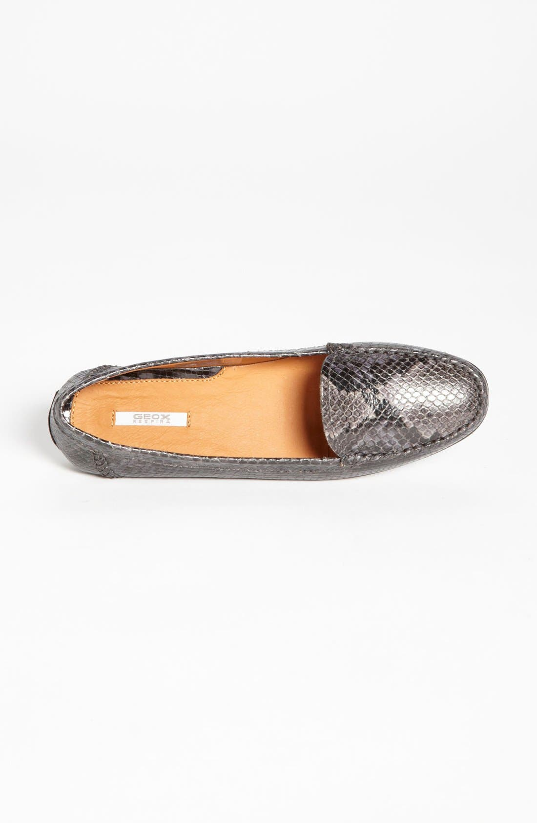 Alternate Image 3  - Geox 'Italy' Snake Embossed Moccasin (Online Only Color)