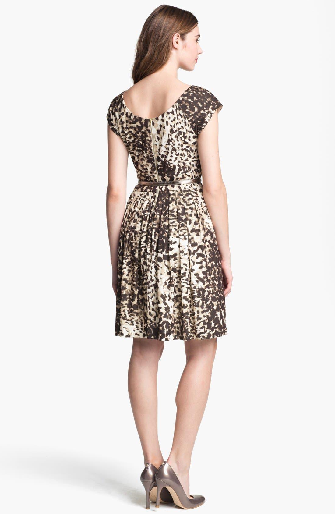 Alternate Image 2  - Eliza J Print Jersey Fit & Flare Dress (Online Only)
