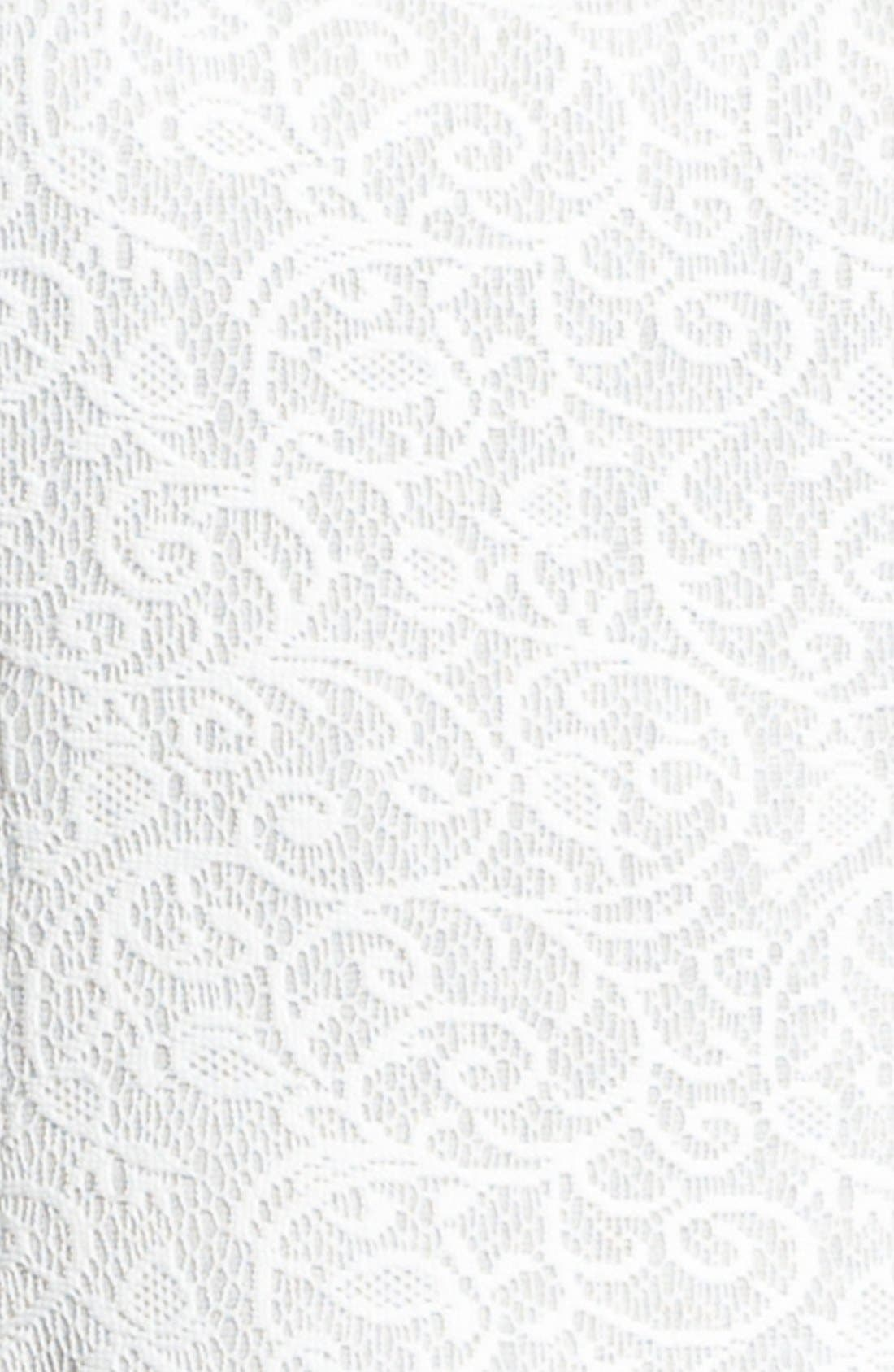 Alternate Image 3  - Ivy & Blu Embellished Knit Lace Dress