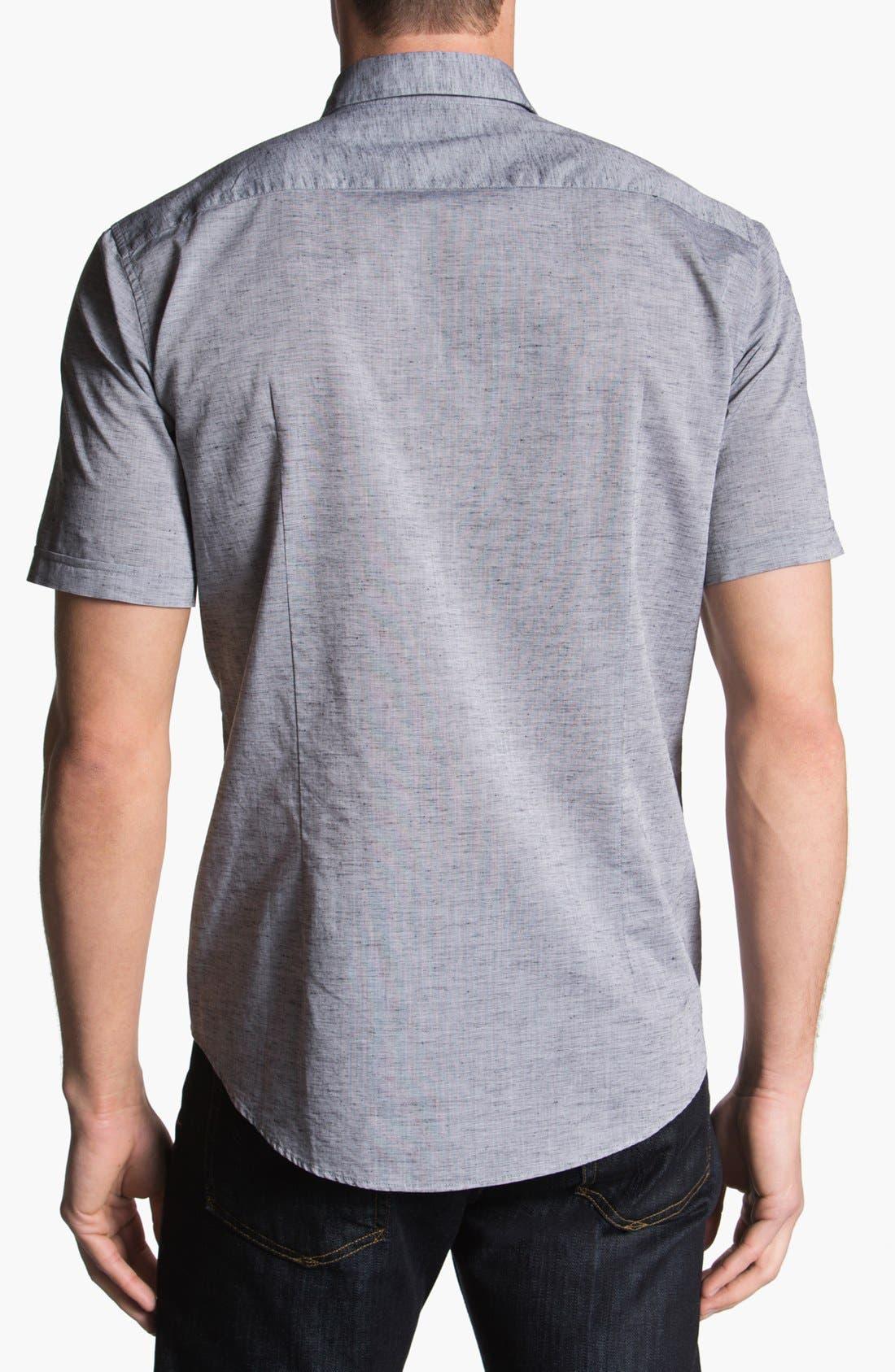 Alternate Image 2  - BOSS HUGO BOSS 'Ring' Short Sleeve Sport Shirt