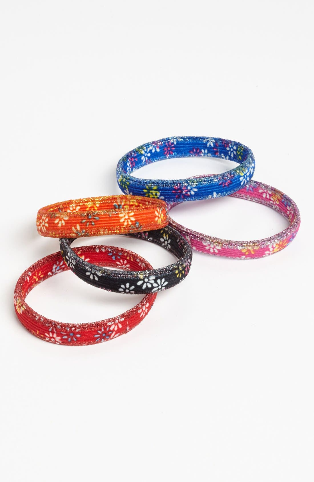 Alternate Image 1 Selected - Tasha 'Daisy' Hair Ties (Set of 5)