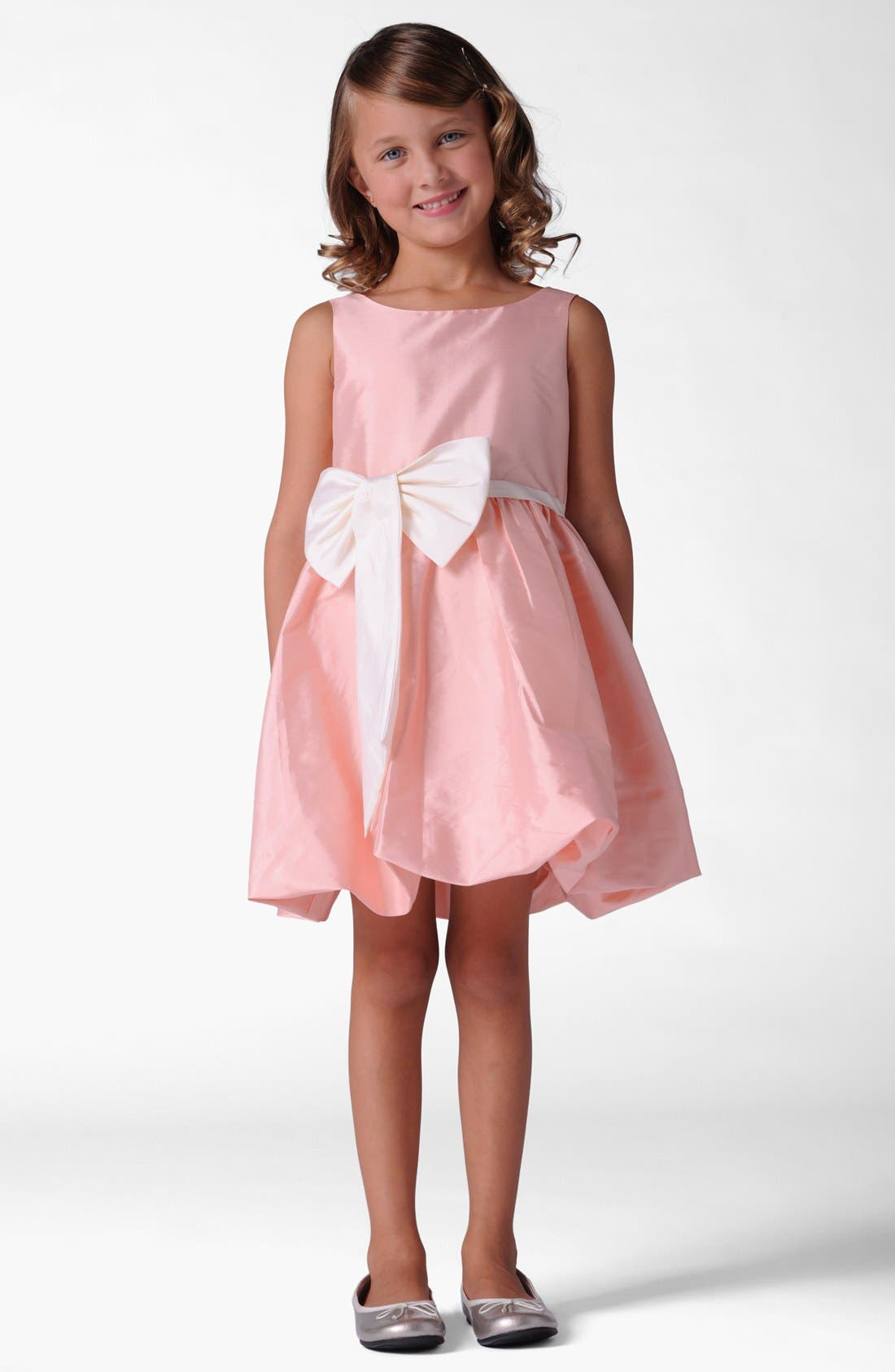 Alternate Image 1 Selected - Us Angels Bubble Dress (Little Girls & Big Girls)