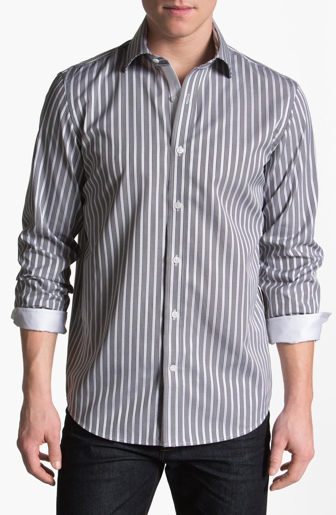 Alternate Image 1 Selected - Report Collection Trim Fit Sport Shirt (Online Only)