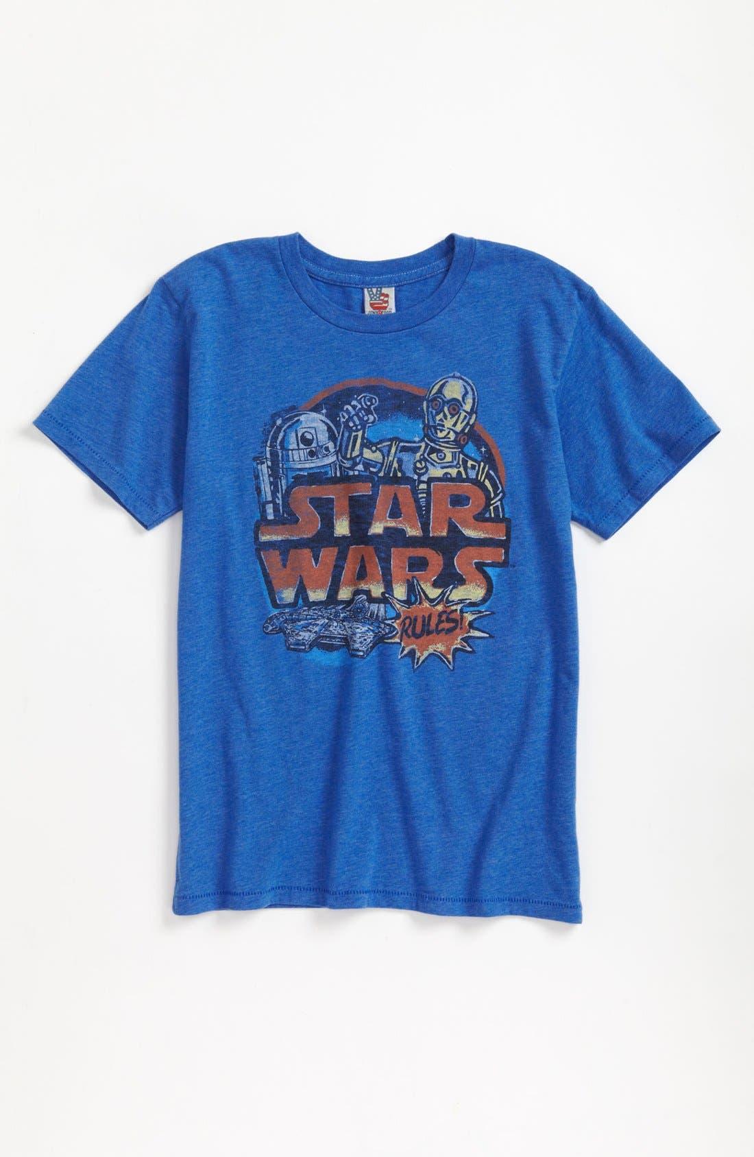 Alternate Image 1 Selected - Junk Food 'Star Wars' T-Shirt (Little Boys & Big Boys)