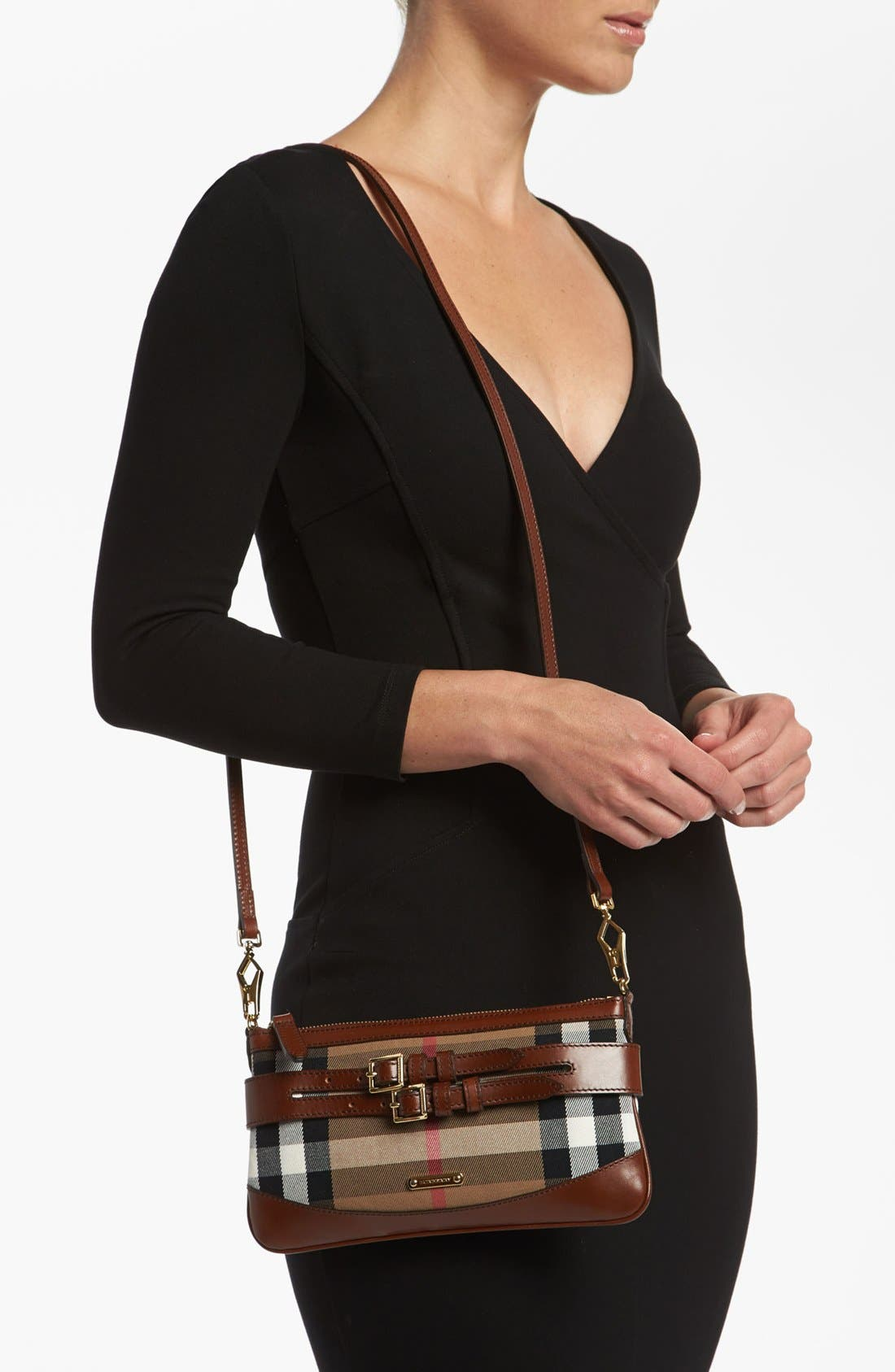 Alternate Image 2  - Burberry 'House Check' Crossbody Clutch