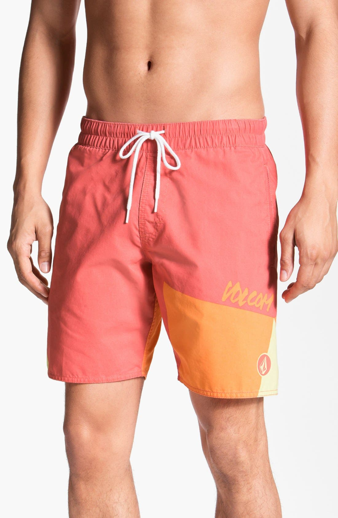 Main Image - Volcom 'Mental Fun' Volley Swim Trunks