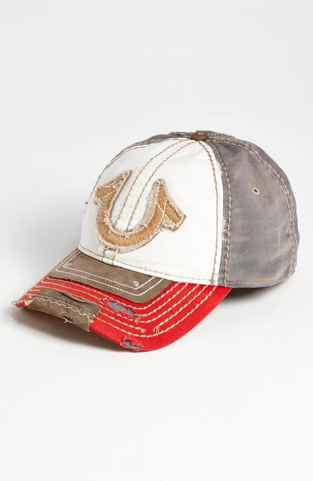 Main Image - True Religion Brand Jeans 'Vintage Horseshoe' Baseball Cap