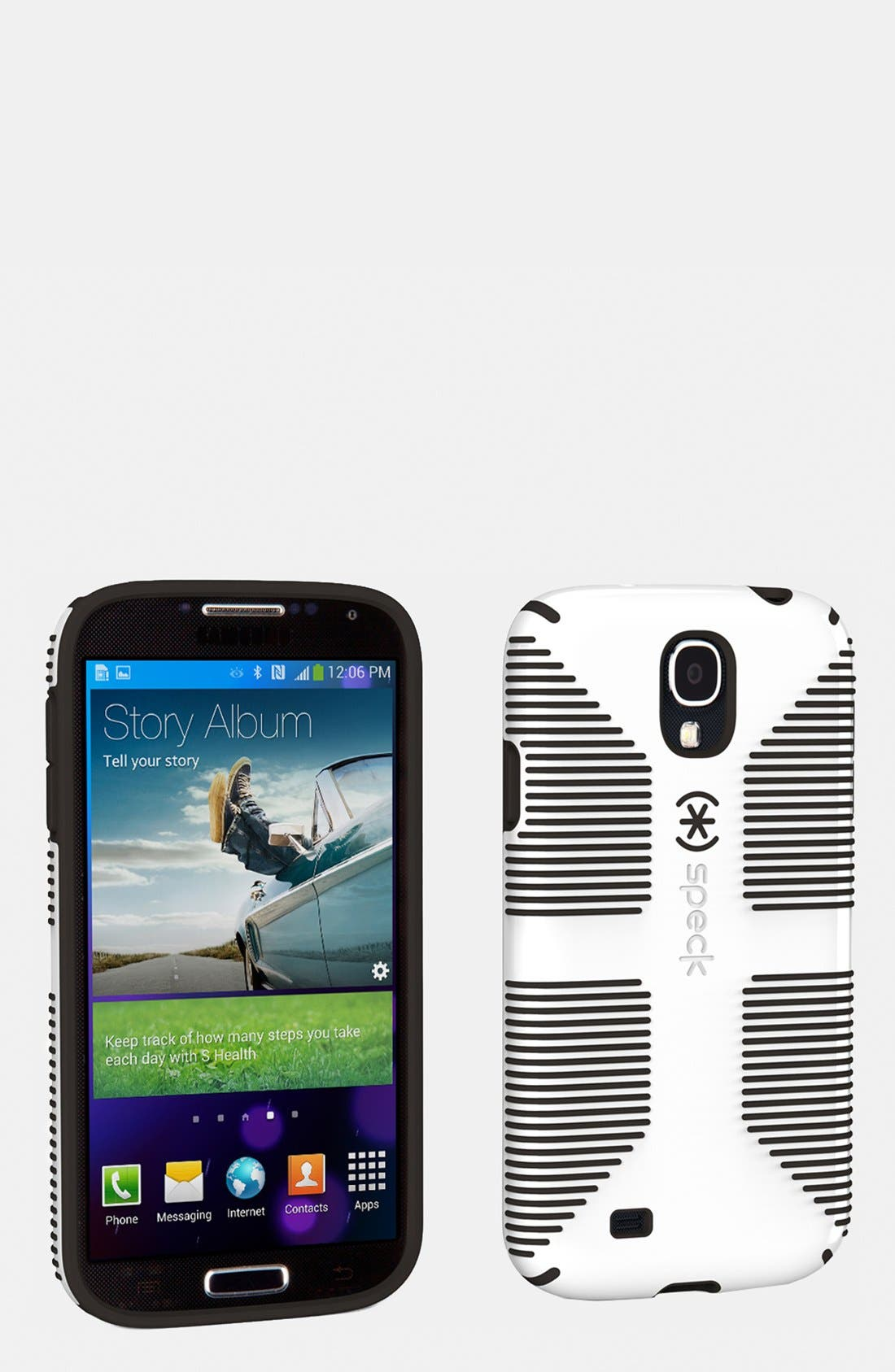 Alternate Image 1 Selected - Speck 'CandyShell Grip' Samsung Galaxy S® 4 Case