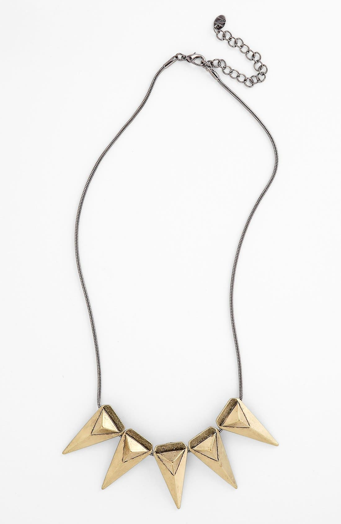 Alternate Image 1 Selected - True Birds Triangle Pendant Necklace