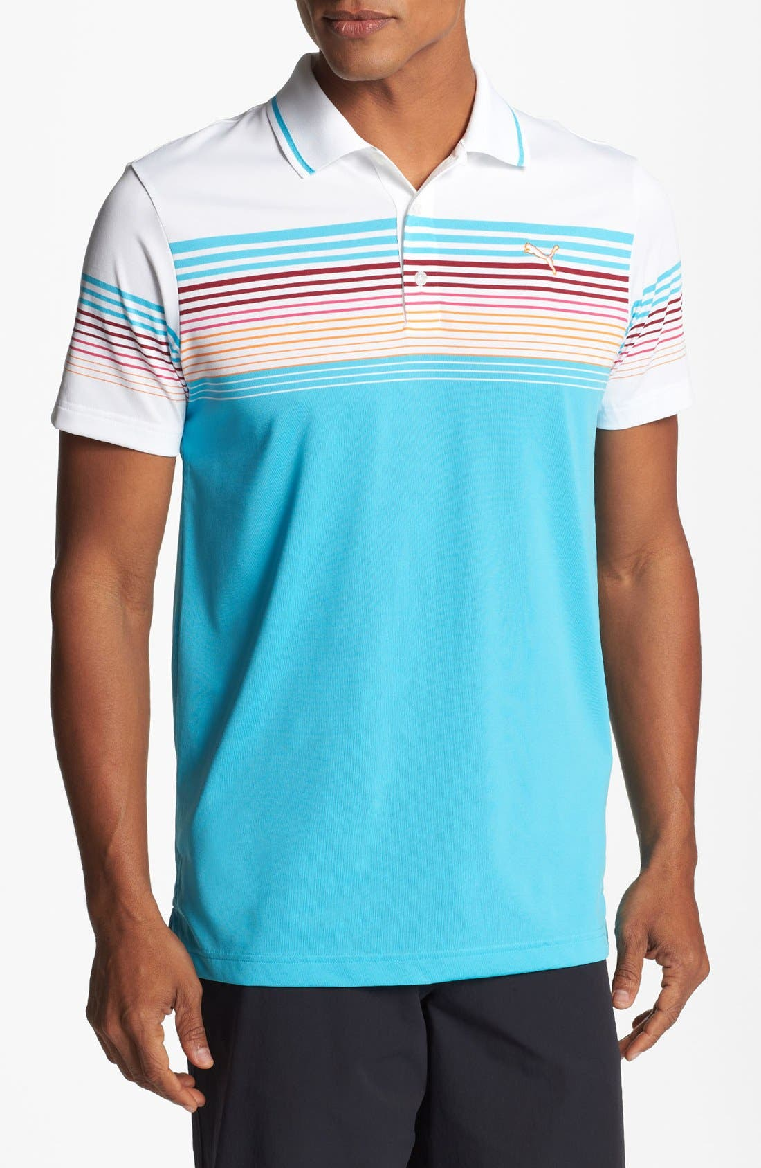 Alternate Image 1 Selected - PUMA GOLF coolCELL™ Tech Polo