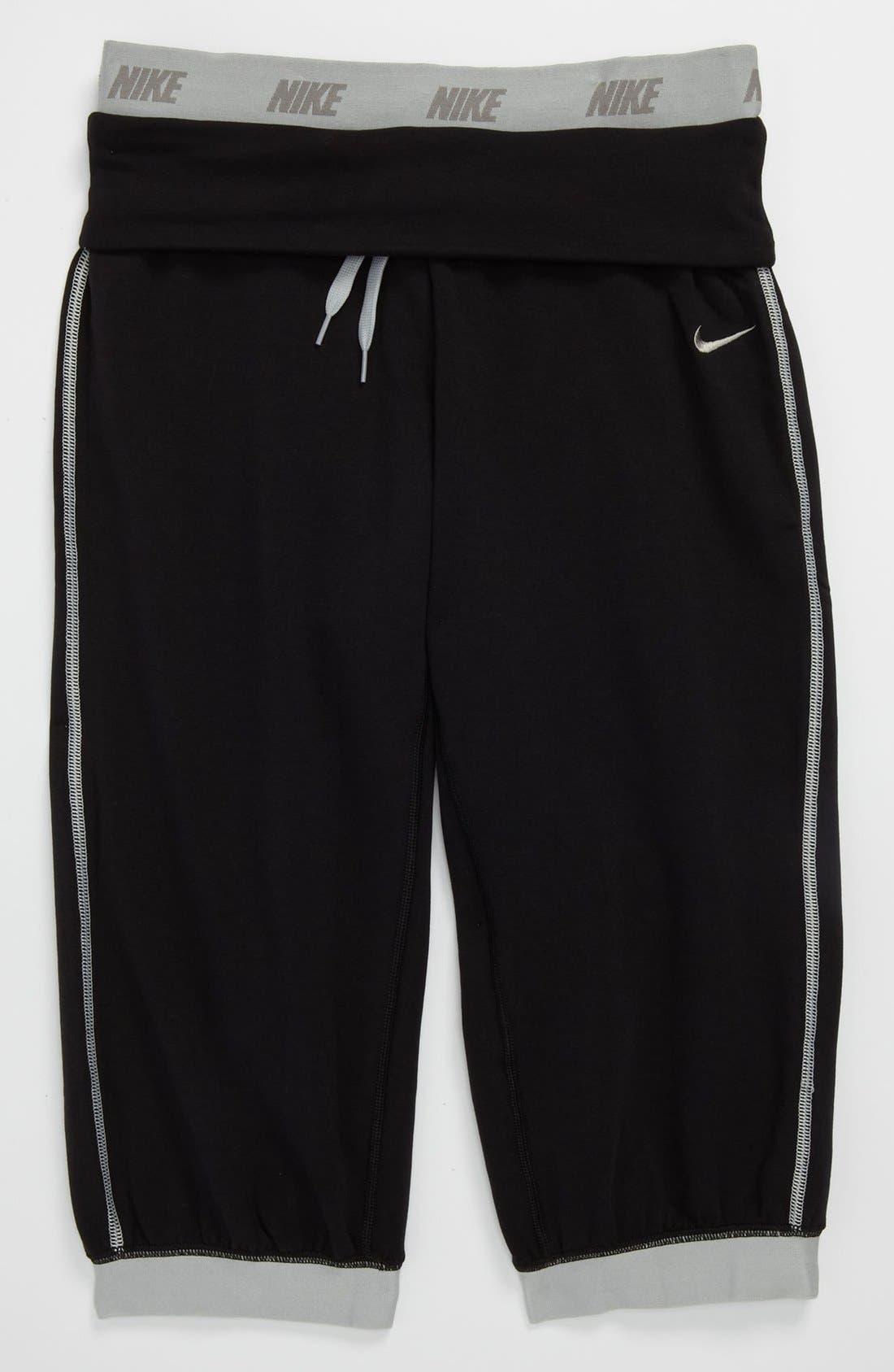 Main Image - Nike 'Victory' Capri Pants (Big Girls)