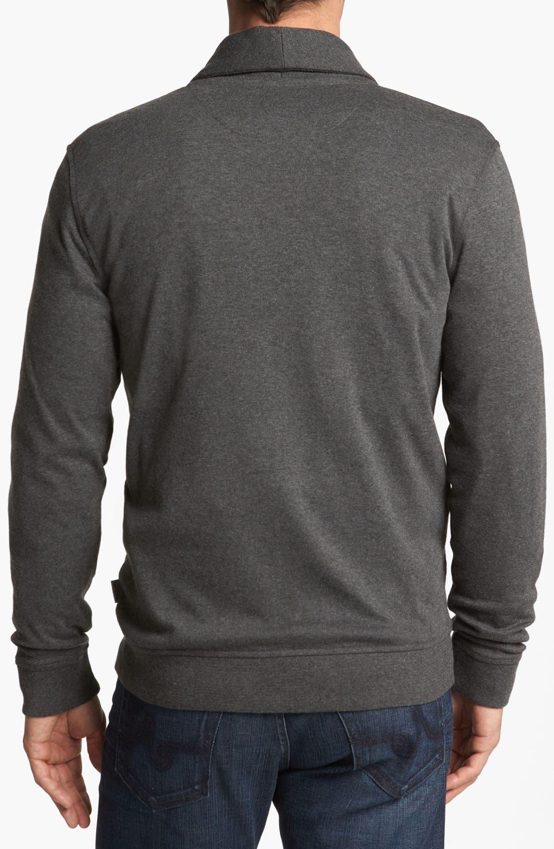 Alternate Image 2  - Ted Baker London 'Norre' Shawl Collar Knit Jersey Cardigan