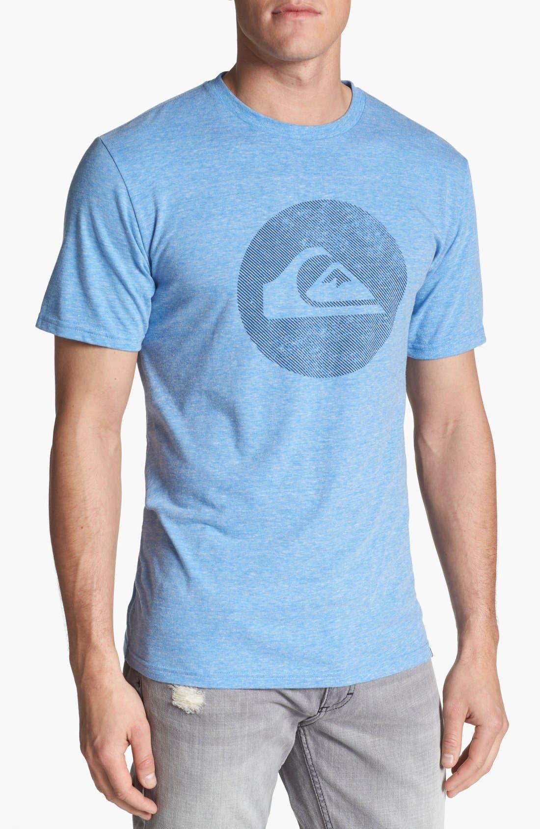 Alternate Image 1 Selected - Quiksilver 'Tilt' Graphic T-Shirt
