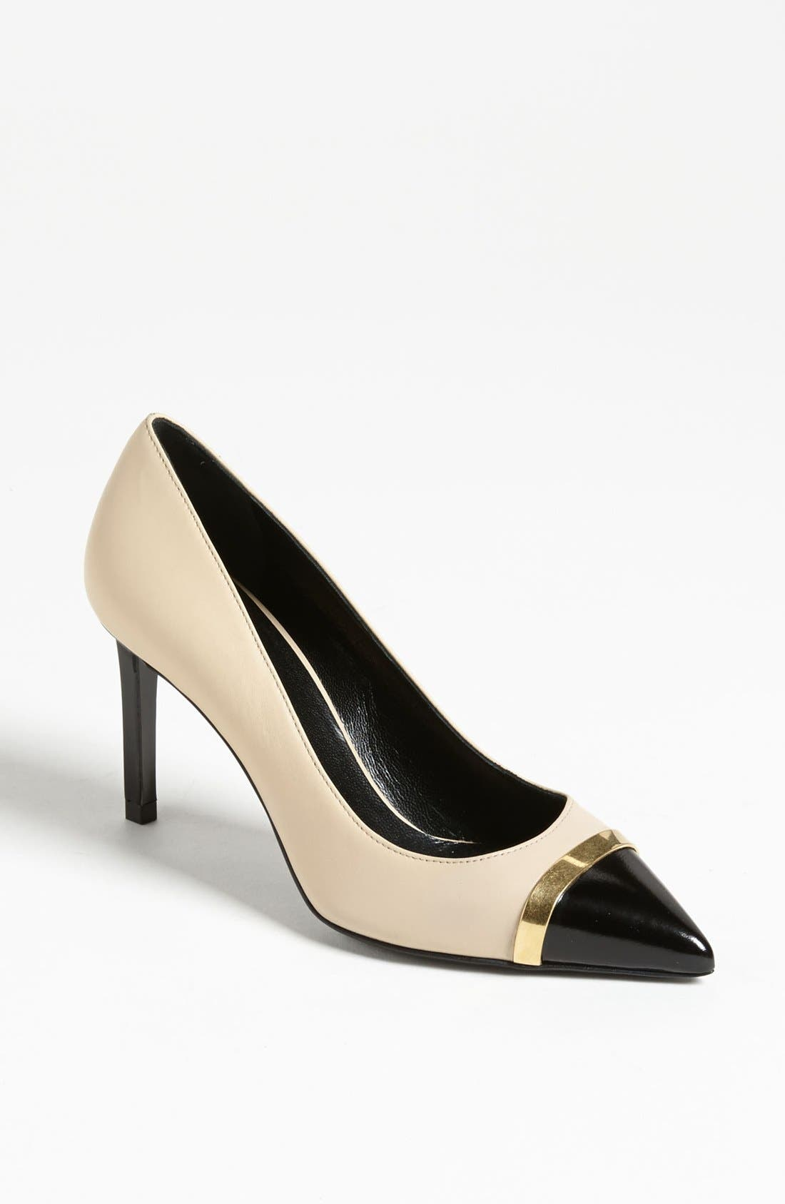Main Image - Saint Laurent Cap Toe Pump