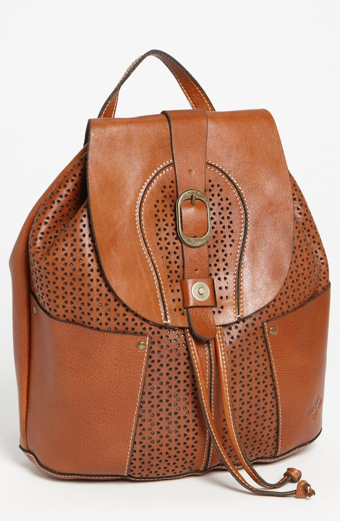 Alternate Image 1 Selected - Patricia Nash 'Vasto' Leather Backpack