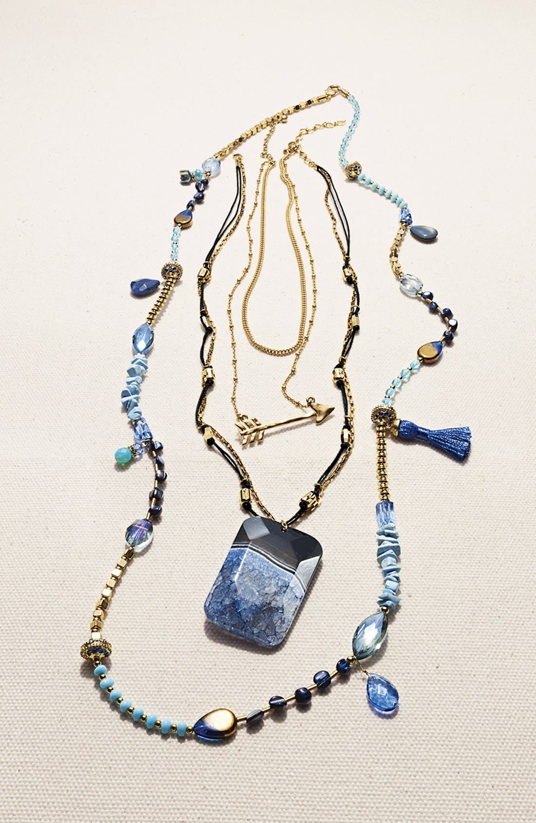 Alternate Image 6  - Nordstrom 'Grotto' Stone Pendant Necklace