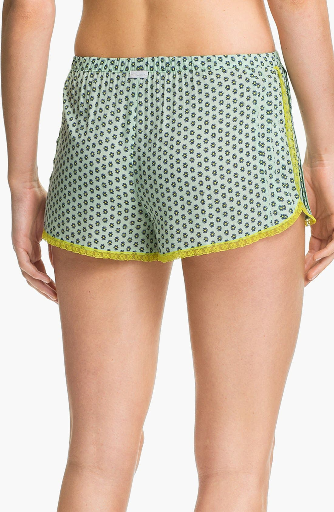 Alternate Image 2  - kensie 'Sugar Rush' Boxer Shorts