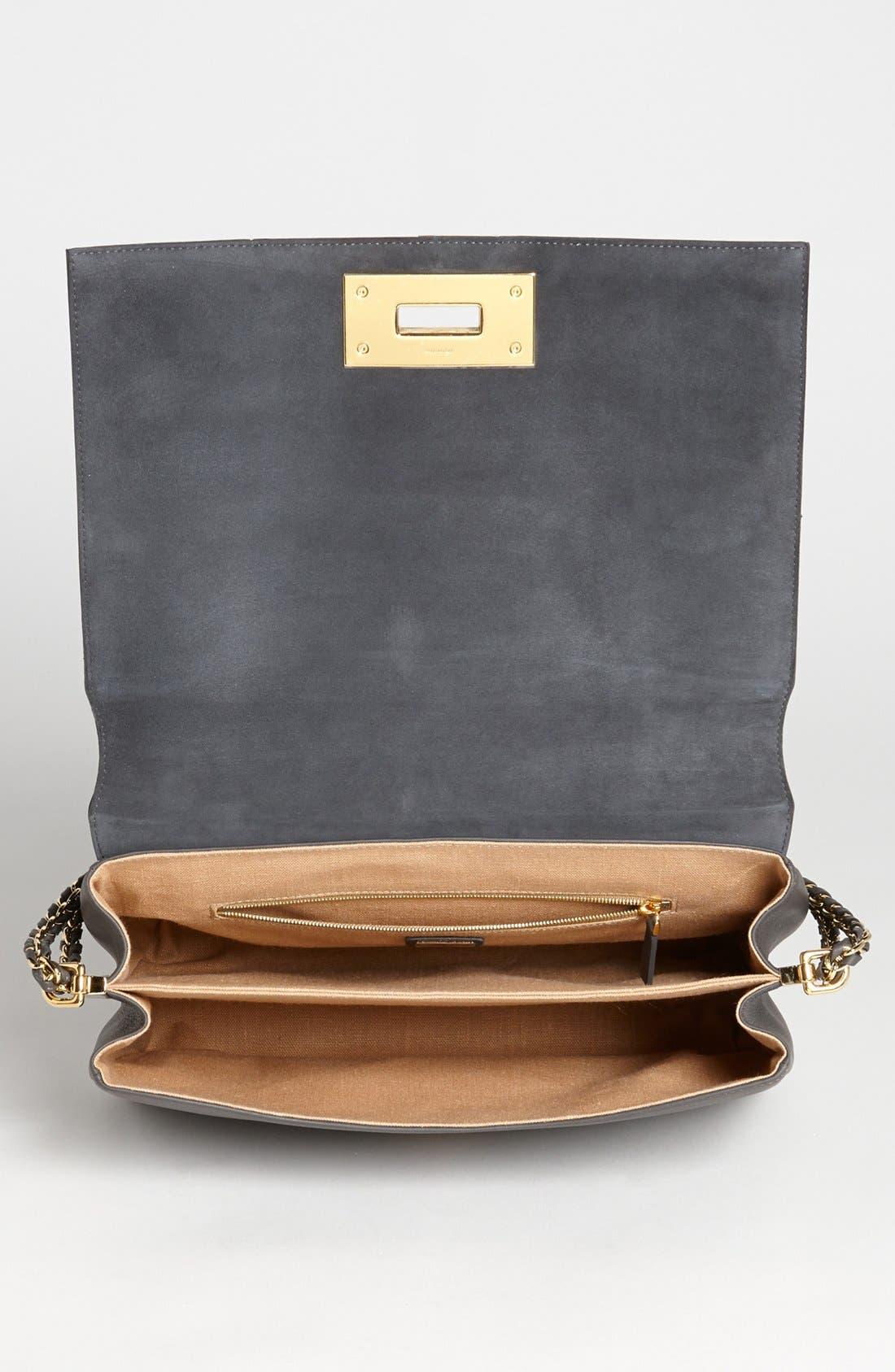 Alternate Image 3  - Fendi 'Claudia - Medium' Leather Shoulder Bag