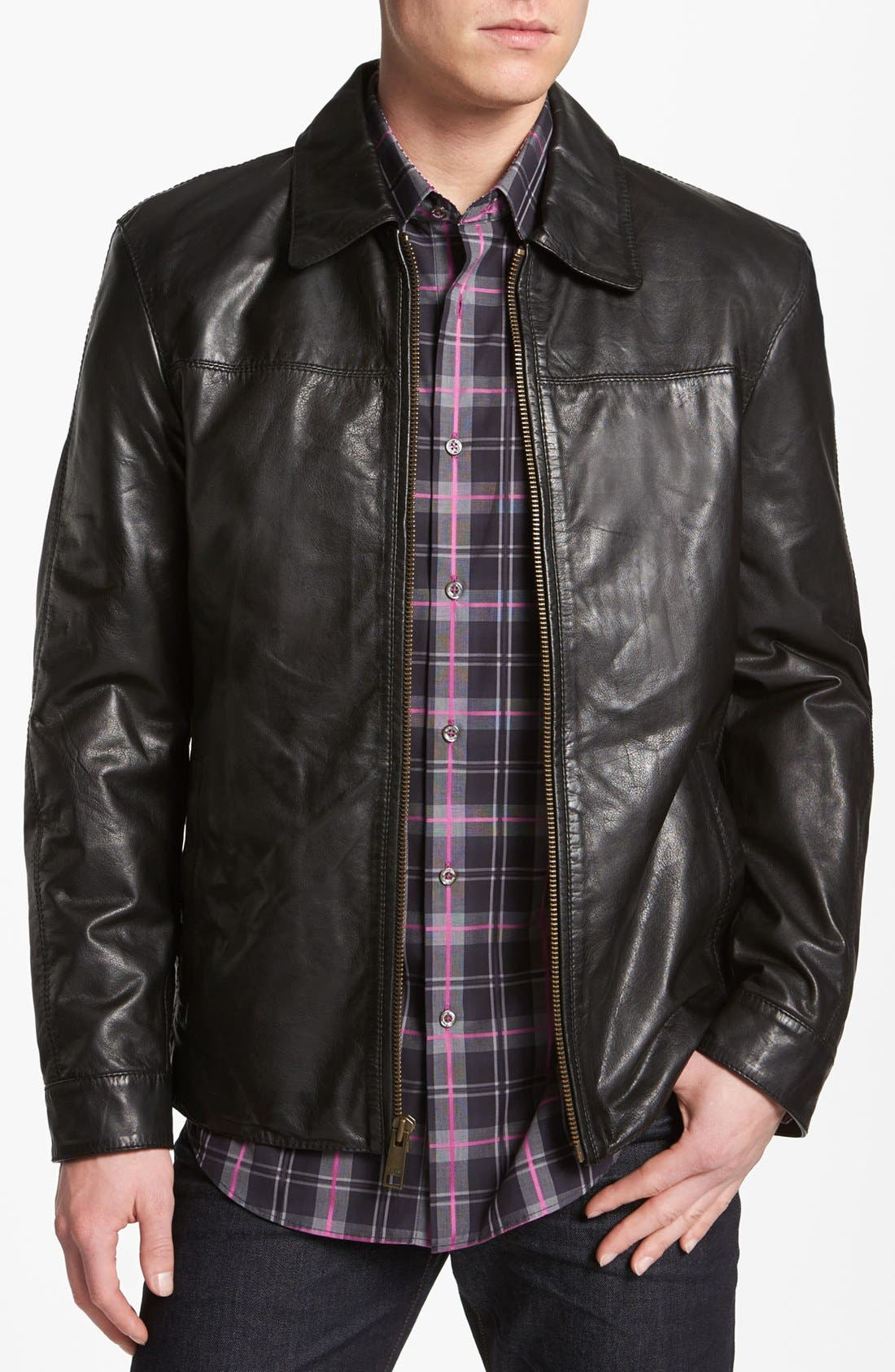 Alternate Image 1 Selected - Marc New York by Andrew Marc 'Cole' Leather Jacket