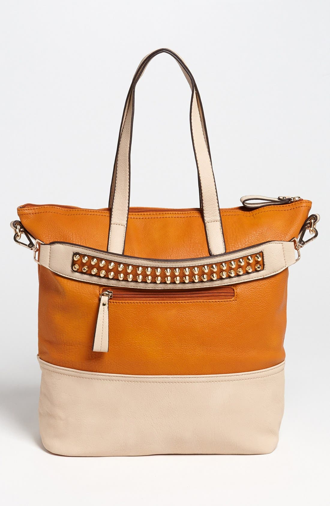 Main Image - Emperia Color Block Faux Leather Tote