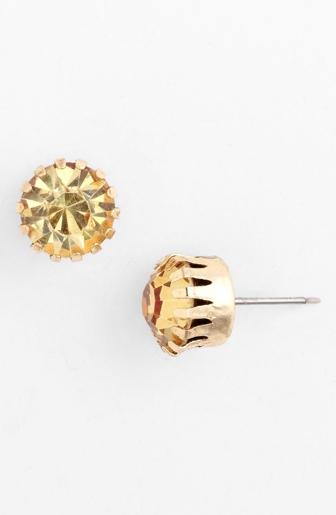 Alternate Image 1 Selected - Tasha Crystal Stud Earrings