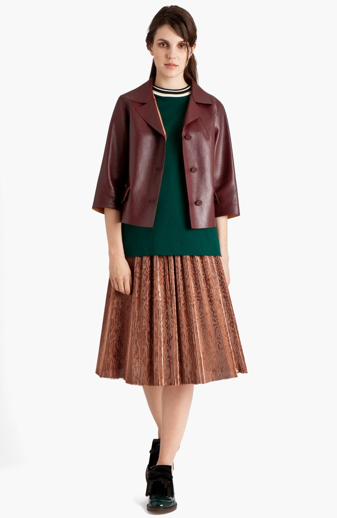 Alternate Image 3  - Marni Knife Pleated Skirt