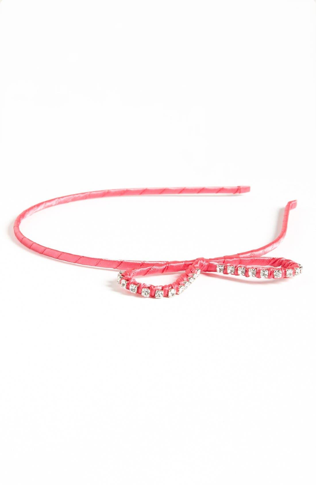 Main Image - Cara Bow Headband (Girls)