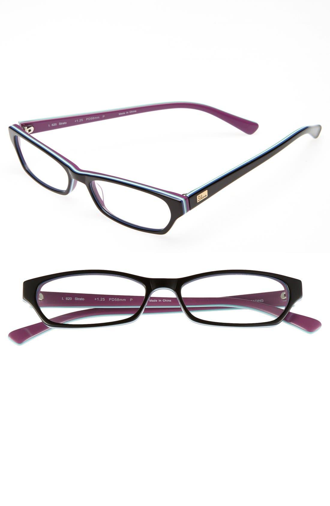 Alternate Image 1 Selected - I Line Eyewear 'Strato' 52mm Reading Glasses