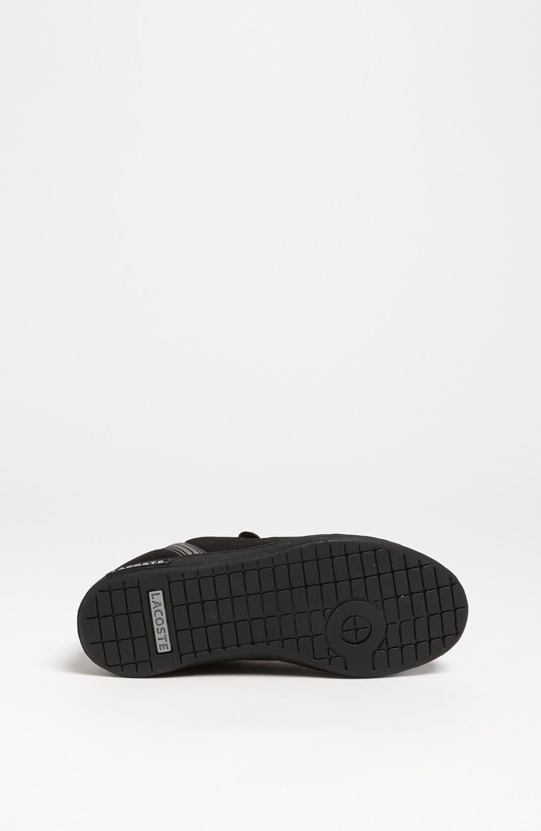Alternate Image 4  - Lacoste 'Renard' Sneaker (Toddler & Little Kid)