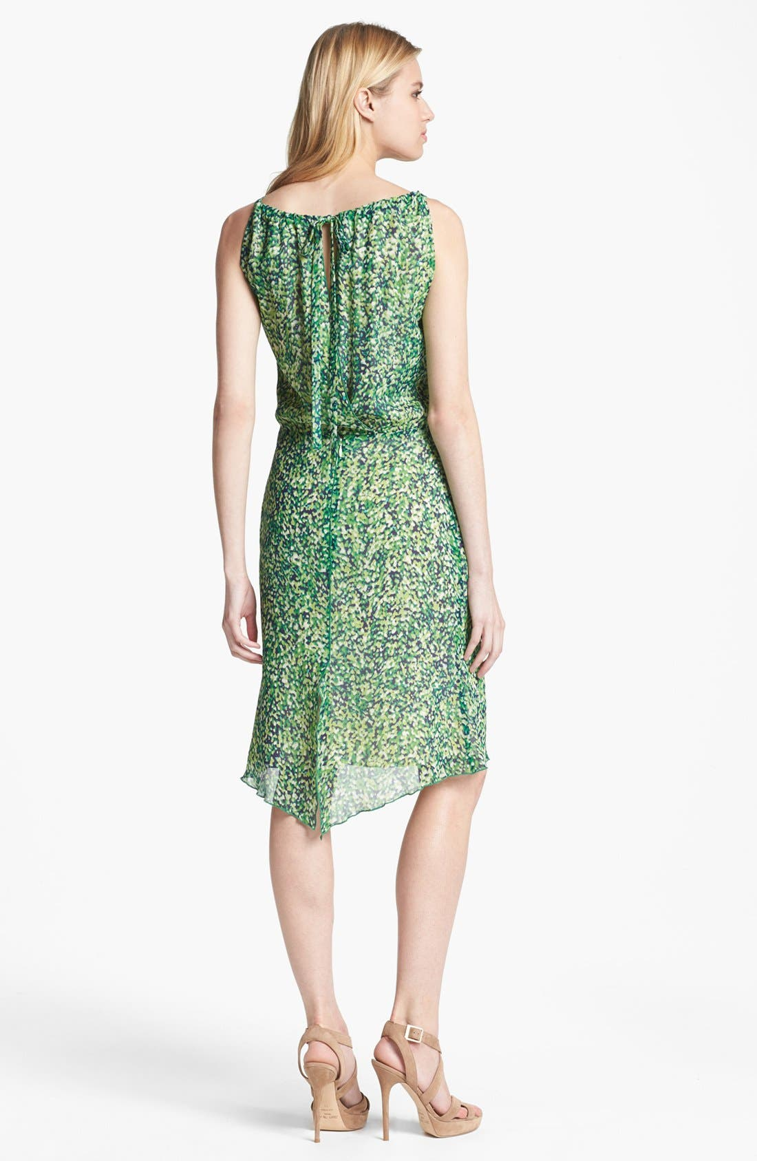 Alternate Image 2  - Rachel Roy 'Color Burst' Silk Blouson Dress