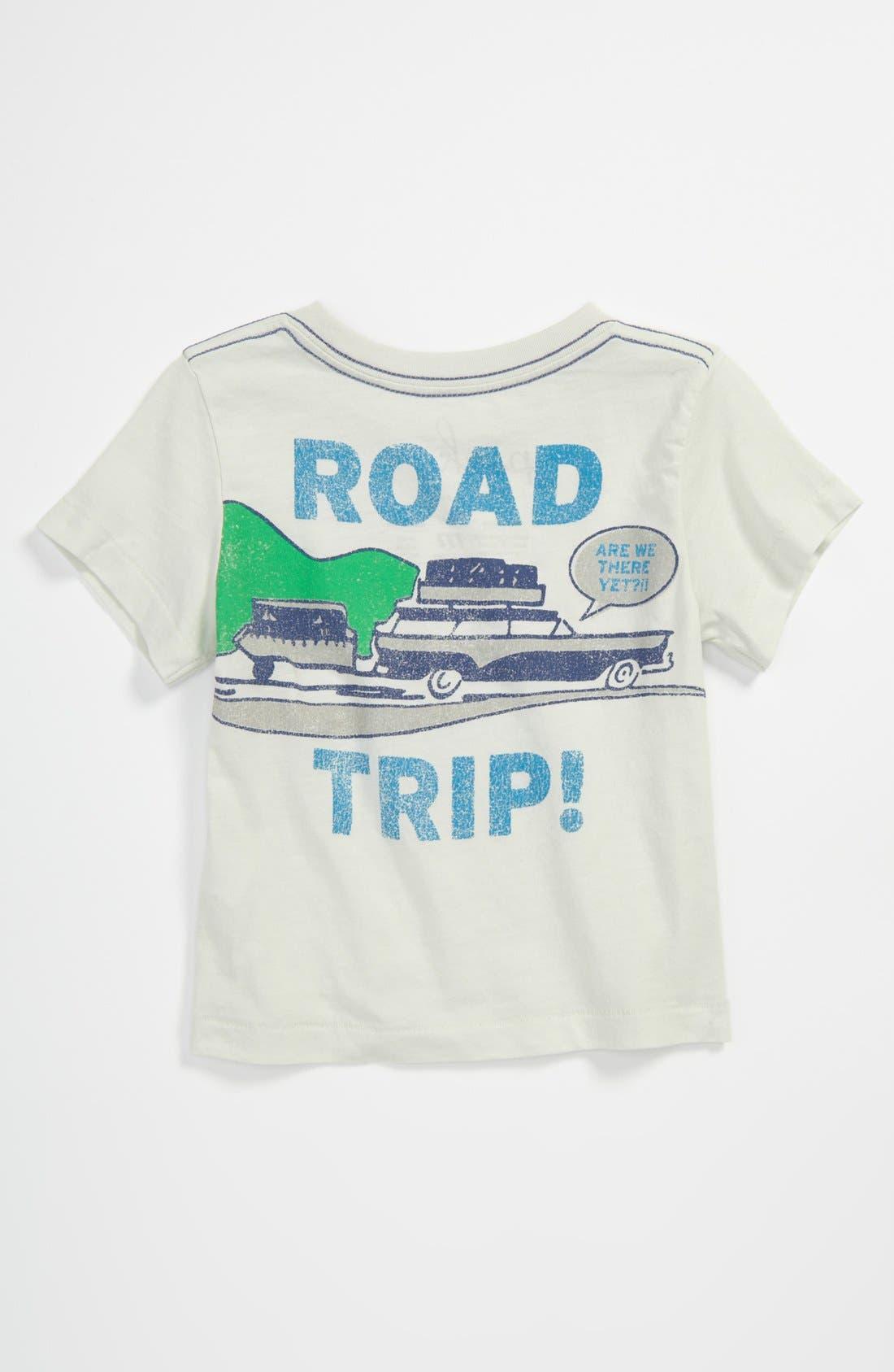 Alternate Image 2  - Peek 'Road Trip' T-Shirt (Baby)